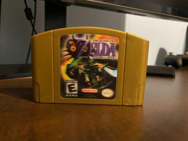 The Legend Of Zelda Majoras Mask Nintendo 64 N64 Authentic clean
