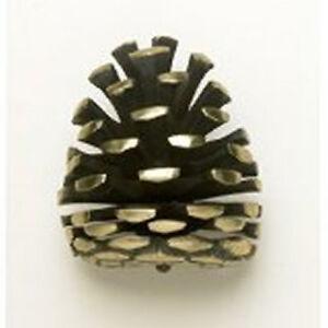 Image Is Loading Solid Br Pine Cone Door Knocker