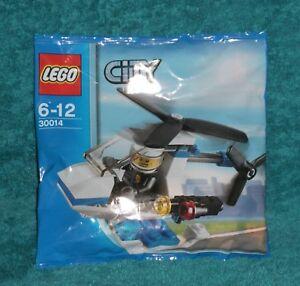 LEGO-CITY-Police-Helicopter-Polybag-Set-30014-BNSIP