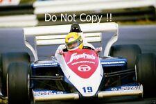 Ayrton Senna Toleman TG184 F1 Season 1984 Photograph 1