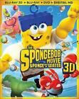 The SpongeBob Squarepants Movie: Sponge out of Water (Blu-ray/DVD, 2015, 3-Disc Set, Includes Digital Copy 3D/2D)