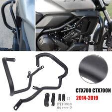MotorFansClub Engine Guard Fit For Compatible With Honda CTX700 N 2014 2015 2016 2017 2018 2019 Highway Crash Bar Black