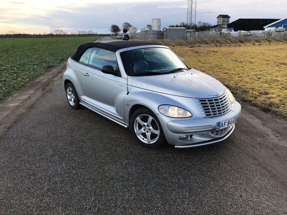 Chrysler PT Cruiser, 2,4 Limited Cabriolet, Benzin