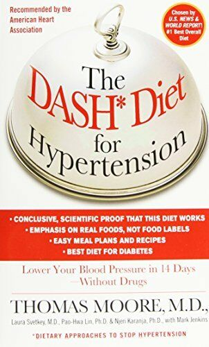 1 of 1 - The Dash Diet for Hypertension: Lower Your Blood Pres..., Pao-Hwa Lin 0743410076