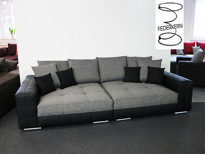 Sofa Federkern In Germany Couch Schlafsofa Style Made Mega Big Xxl OXn08Pwk