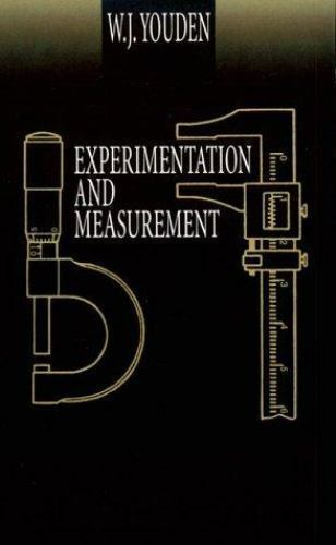 Experimentation and Measurement, , Youden, W. J., Good, 1998-06-19,