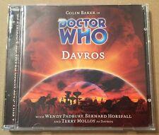 Doctor Who - Davros Audio Book 2 x Cd's Colin Baker Terry Molloy DELETED V. Rare