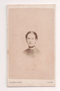 Vintage-CDV-Ruth-Pleydell-Bouverie-Grandaughter-Earl-of-Radnor-Kent-Photo-London