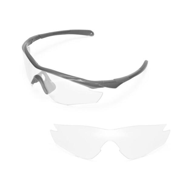 5ad314cbef New Walleva Clear Replacement Lenses For Oakley M2 Sunglasses
