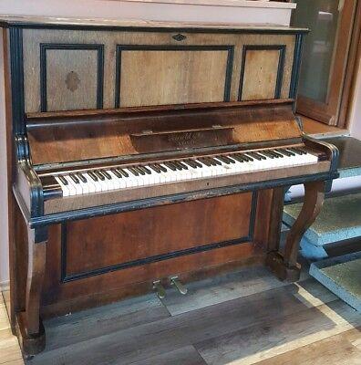 Antikes Klavier Zierhold & Co. Leipzig Gründezeit Hohe QualitäT Und Geringer Aufwand