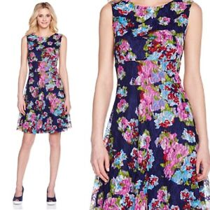 Details About Tiana B Modern Romance Floral Lace Dress Small 312114 J S Floral 3995