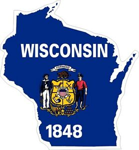 Wisconsin-Map-Flag-Decals-Stickers