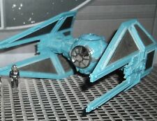 STAR WARS ACTION FLEET SERIES  IMPERIAL TIE INTERCEPTOR  WITH PILOT
