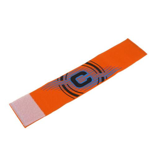 Orange Soccer Fußball Kapitänsbinde Captain Armbinden Armband Für Sports