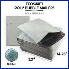 1 7 1425x20 Poly Bubble Mailers Padded Envelope Shipping Bags 1425 X 20 7