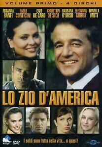 Lo-Zio-d-039-America-Volume-01-Cofanetto-Con-4-Dvd-Nuovo-Sigillato