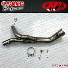 2009 - 2014 YAMAHA YZFR1 YZF R1 M4 EXHAUST CATALYTIC CONVERTER ELIMINATOR Y-PIPE
