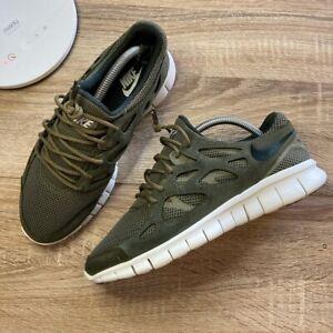 Nike Free Run 2 537732-201 Uk 7 Mens Sneakers Running Trainers Used
