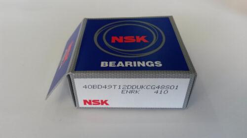 AC Compressor OEM Clutch Bearing NSK 40BD49 40x62x20,5 mm Air Condition Ddu-duk