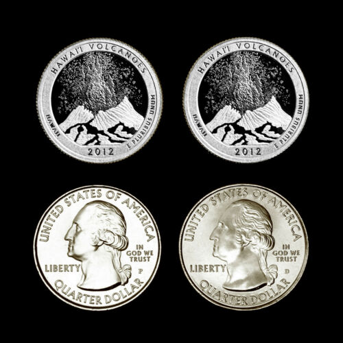 2012 P+D+S+S America the Beautiful National Parks ~ Sil Pr Proof PD Mint Set