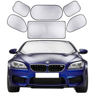 Car Sunshade Sun shade Front Rear Window Film Windshield Visor Cover UV Protect