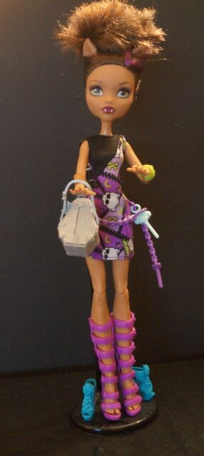 Monster High Doll  - Clawdeen Wolf ~ How do you Boo