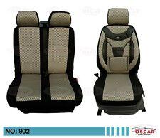 Renault Trafic 2 Schonbezüge Sitzbezüge  Autositzbezüge 2001-2014 1+2 Sitzer 902