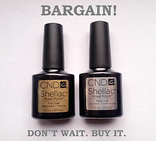 CND Shellac original set of Top Coat and Base Coat -- best for you.