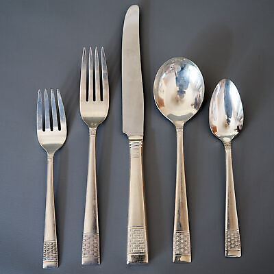 STATE HOUSE INAUGURAL Sterling Silver set 6 Teaspoons Desert Spoons 2 Sets AVAIL