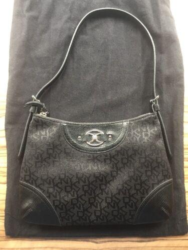 Black W28cms Rarely Small 5cms L18 Bag Strap Used Short Dkny 7aTqw
