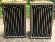 1970s KENWOOD KL-555A STEREO SPEAKERS, ONE (1) SET of TWO (2), VINTAGE
