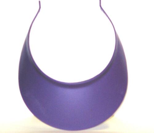 3 Woman/'s Purple Sun Visors Mfg USA Lead Free Foam in Rim