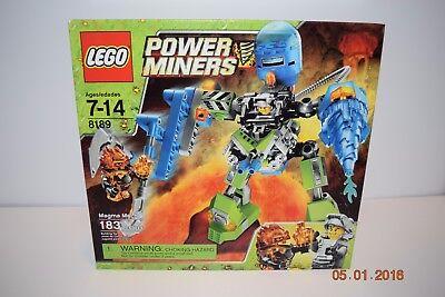 8189 Magma Mech lego set NEW power miners legos retired