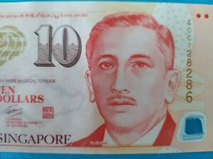 Singapore-10-Polymer-Banknote-Portrait-Series-UNCIRCULATED-amp-VERY-MINT-Note