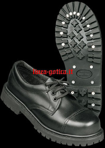 Anfibi gothic scarpe 3 buchi dark gothic Anfibi rock punk metal ff07d2