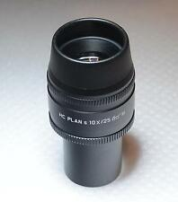 1x Large Leica Microscope Eyepiece HC PLAN s 10X/25 M 507808 11507808 New in Box