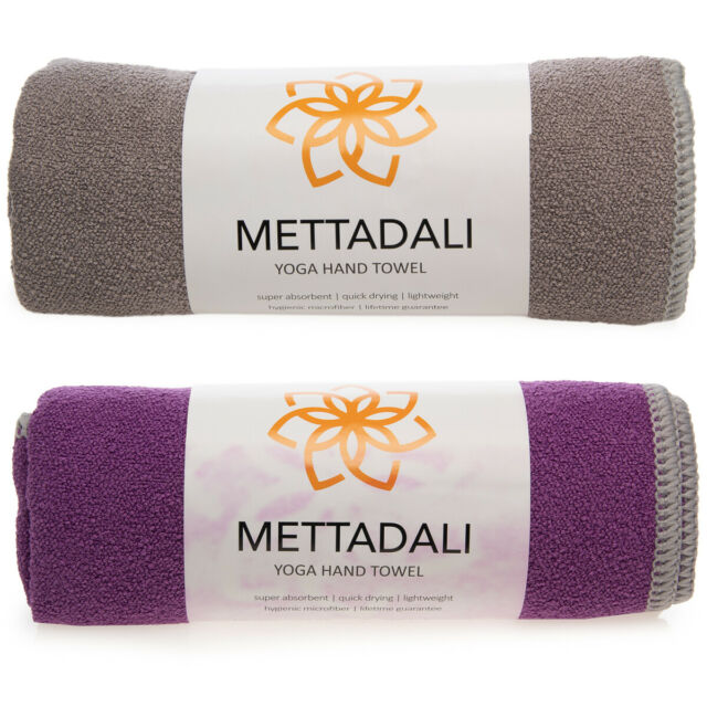 Quick Drying Absorbent Non-Slip for Yoga Pilates Gym Travel Size Outdoor Fitness Manduka eQua Hand Towel