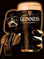 Guinness Star Wars,Retro metal Aluminium Sign Vintage Garage shed Man Cave wall