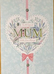 Mum Mother Birthday Cards Handmade Mother S Day Special Mom With Love Ebay