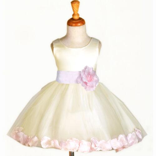 Ivory Wedding Flower Girl Dress Recital Tulle Toddler 12 18m 2 3t 4 5t 6 8 10 12 Woodlandhideawaypark Co Uk,Macy Dresses For Wedding