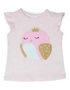 Objective New Sprout Girls Essential Top Tgs19000-cw5 Lt Pink Elegant Shape Other Newborn-5t Girls Clothes