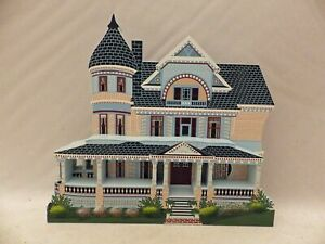 Shelia-039-s-Collectibles-Queen-Anne-Mansion-Victorian-Springtime-III-VST12