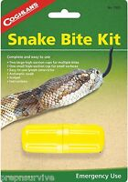 Snake Bite Kit Camping Emergency Survival First Aid Venom Sting Extractor