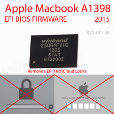 "BIOS EFI firmware chip A1398 Apple MacBook Pro 15/"" i7 2.2GHz EMC 2909 MID 2015"