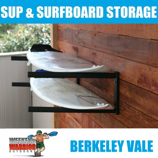 Surfboard SUP Stand Up Paddleboard Longboard Wall Storage Rack Garage Shelf
