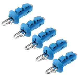 5x-Splash-Down-Fishing-Bait-Clip-Locking-Lock-Jigging-Lure-Hook-Release-Clip