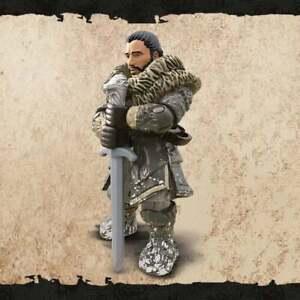 Game-of-Thrones-Mega-CONSTRUX-figurine-Jon-Snow-avec-Longclaw-Sword