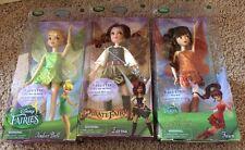 Disney Store Classic Doll 10 Inch Fairies Tinker Bell Zarina Fawn NIB