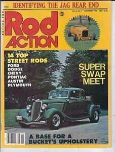 NC-106 Rod Action, November 1979, Top Street Rods, Super Swap Meet Hot Rods