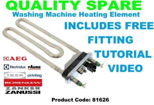 ZANUSSI ZWF71643W ZWF71660W ZWF71663W ZWF7230SSE Lavatrice Elemento riscaldatore